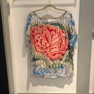 Thakoon Addition floral blouse